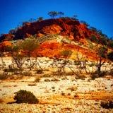 Australias backyard. One of many rocky landscapes arount mount magnet royalty free stock photo