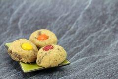 Australias famous cookies. Fresh australias famous cafe cookies royalty free stock photography