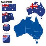 australiaset royalty ilustracja