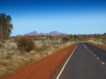 Australie, à l'intérieur, Uluru image libre de droits