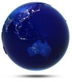 Australie, Asie du Sud-Est et Océanie illustration libre de droits
