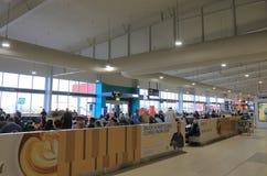 Australie d'aéroport international de la Gold Coast Photo libre de droits