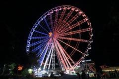 Australie de Brisbane de grande roue Photos stock