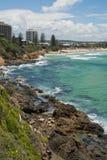 Australie de côte de soleil de scène de plage de Coolum Photos libres de droits
