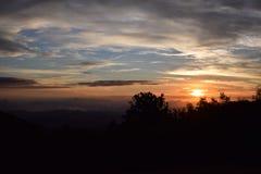 Australie de coucher du soleil Photographie stock libre de droits