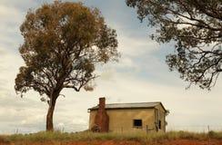 Australie de demeure abandonnée de Mandurama Image stock