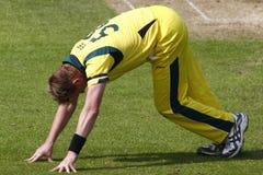 Australie 2012 de l'Angleterre v un 4ème international de jour Image stock