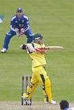 Australie 2012 de l'Angleterre v un 4ème international de jour Images libres de droits