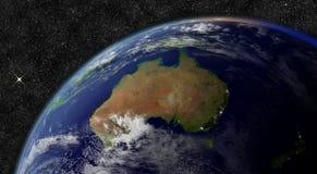 Australie de l'espace illustration libre de droits