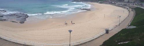 Australie de la plage NSW de Newcastle Photos stock