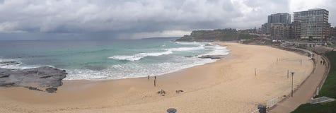 Australie de la plage NSW de Newcastle Images libres de droits