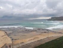 Australie de la plage NSW de Newcastle Photo libre de droits