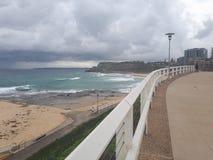 Australie de la plage NSW de Newcastle Images stock
