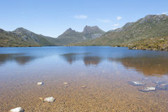 Australie de la Tasmanie de parc national de montagne de berceau Photographie stock libre de droits