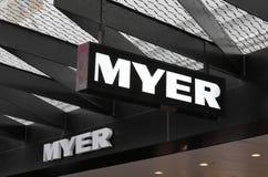 Australie de Melbourne de magasin de Myer image stock