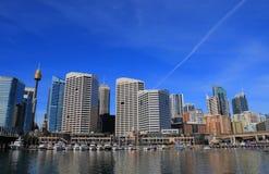 Australie de paysage urbain de Darling Harbour Sydney Photo stock