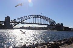 Australie de pont de Harbpur images libres de droits