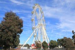 Australie de roue d'observation d'étoile de Melbourne Photographie stock libre de droits