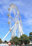 Australie de roue d'observation d'étoile de Melbourne Photo stock