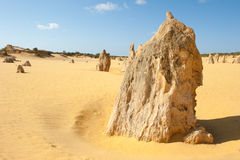 Australie de sommets de parc national de Nambung Photos stock