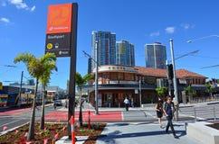 Australie de Southport CBD la Gold Coast Queensland Photographie stock