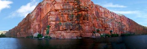 Australie de territoire du nord de gorge de Katherine Photographie stock libre de droits