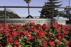 Australie des Rois Park Perth de monument de mémorial de guerre des Rois Park gentille Photo stock