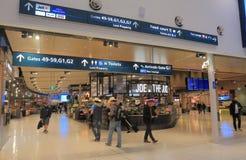 Australie domestique d'aéroport de Sydney Images libres de droits