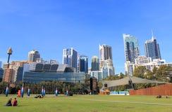 Australie du centre de paysage urbain de Sydney Photographie stock