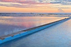 Australie du nord de lever de soleil de Narrabeen Images libres de droits