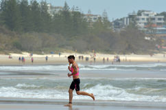 Australie 2014 du Queensland d'or de Coolangatta Image libre de droits