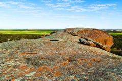 Australie du sud de roche de Pildappa Images libres de droits
