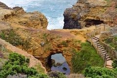 Australie, grande océan route de VIC, Photos libres de droits