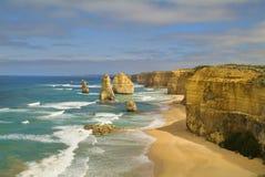Australie - grande route d'océan Photos libres de droits