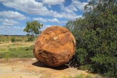 Australie, les marbres du diable Photo libre de droits