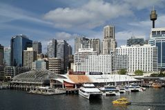 Australie, NSW, Sydney, Darling Harbor Image stock