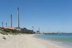 Australie occidentale de centrale électrique de Kwinana Photo libre de droits