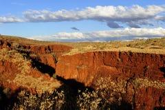 Australie occidentale de Karijini NP Pilbara Photographie stock