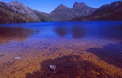 Australie : Parc national de montagne de berceau en Tasmanie image libre de droits