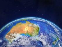 Australie sur terre illustration libre de droits