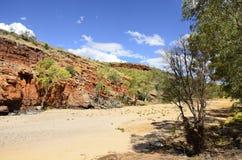 Australie, territoire du nord, à l'intérieur, gorge d'Ormiston photographie stock