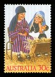 AUSTRALIE - timbre-poste photos libres de droits