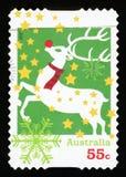 AUSTRALIE - timbre-poste photographie stock