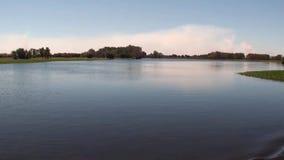 Australien alligatorflod, Kakadu nationalpark, sikt av floden under navigering lager videofilmer
