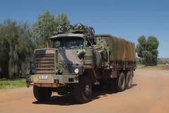 Australien armé arkivbild