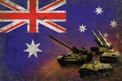 Australien armé, krigsmakter Arkivbilder