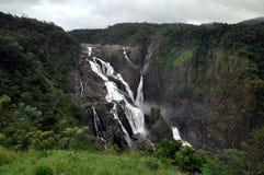 Australien barronfalls tropiska norr queensland fotografering för bildbyråer