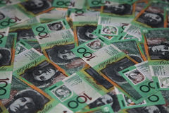 Australien 100 billets d'un dollar Photos libres de droits