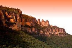 Australien blå bergnsw Royaltyfri Foto