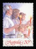 AUSTRALIEN - Briefmarke stockfotos